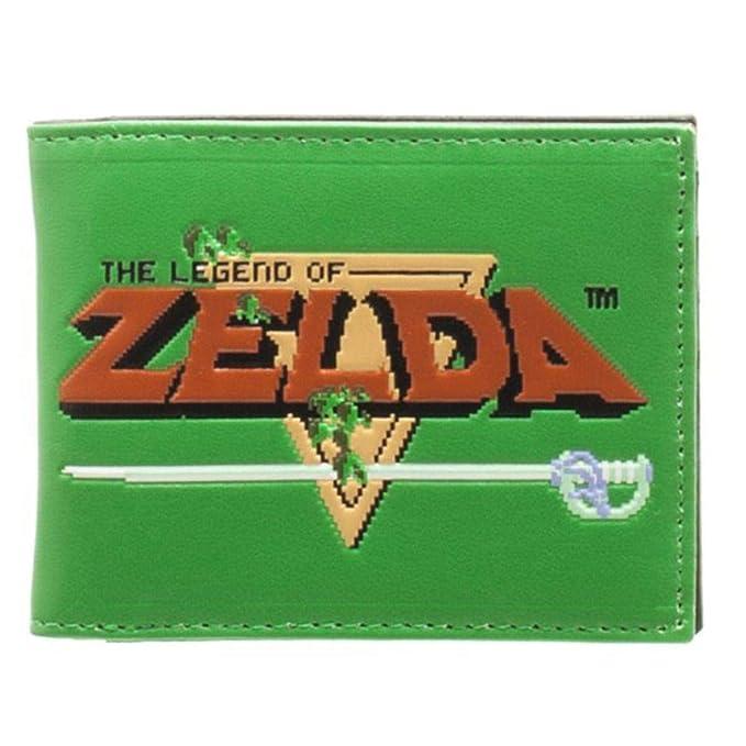 Bioworld Nintendo Zelda verde tipo cartera - St: Amazon.es: Ropa y accesorios