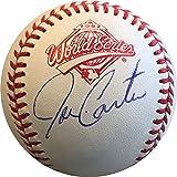 Joe Carter Autographed 1992 World Series Baseball