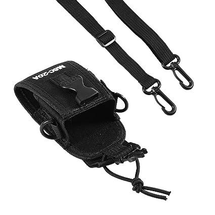 Amazon Com Zerone Universal Walkie Talkie Nylon Belt Case Bag With
