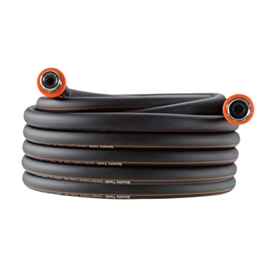 Giraffe Garden Hose,Water Hose Hybrid 5/8 in.x50FT, SwivelGrip/Heavy Duty/Lightweight/Flexible Hose