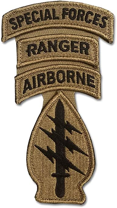 US Army Special Forces ACU Patch Tab