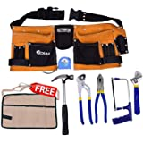 Kosma Electrician Tool Kit   D.I.Y. Mechanics Tool Kit Set of 7   Carpenter Leather Apron