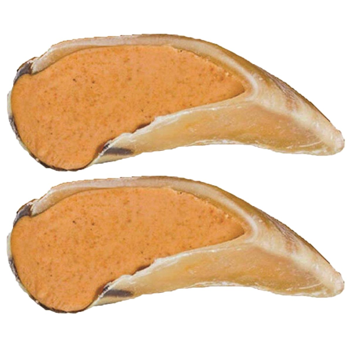 Redbarn Peanut Butter Filled Cow Hooves 1.8 oz. (2-Pack) by Redbarn Pet Products