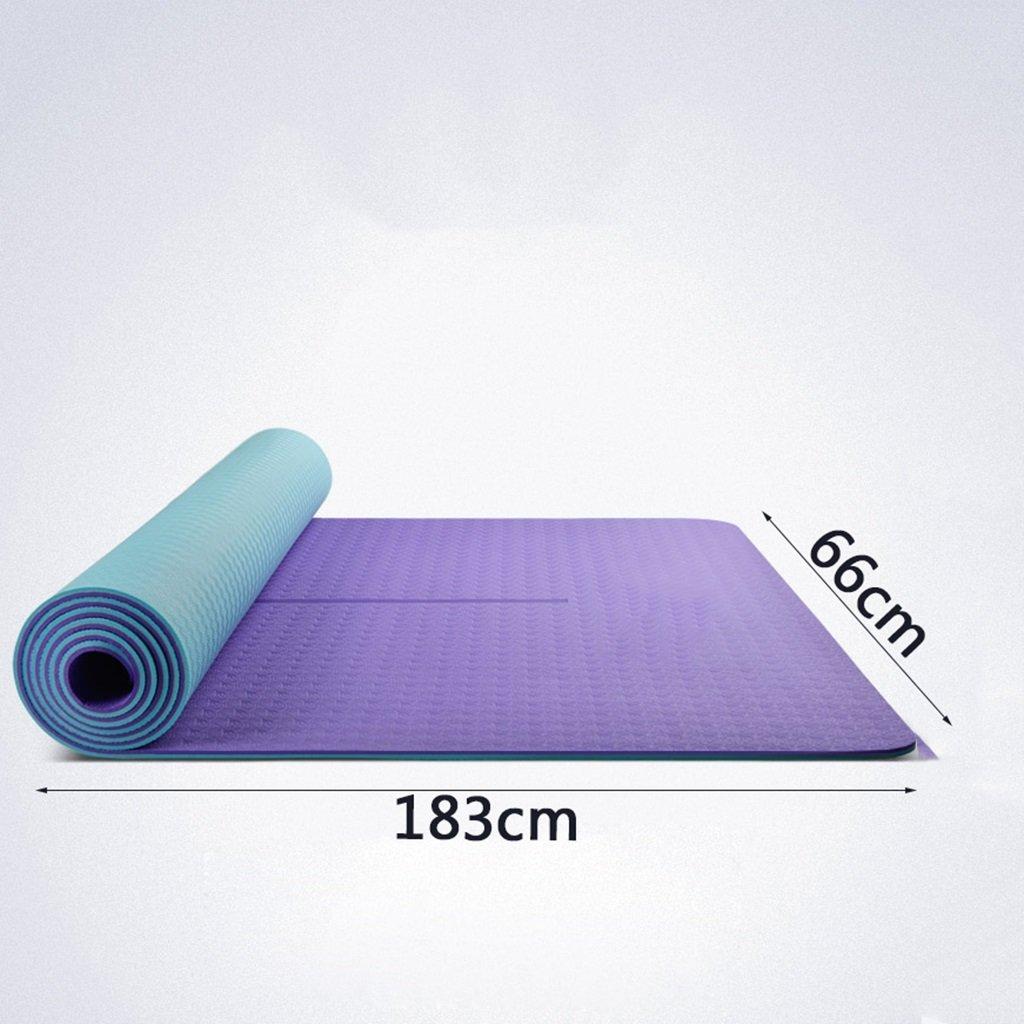 Yoga Mat Beginner Thickening Widened Ligero Antideslizante ...