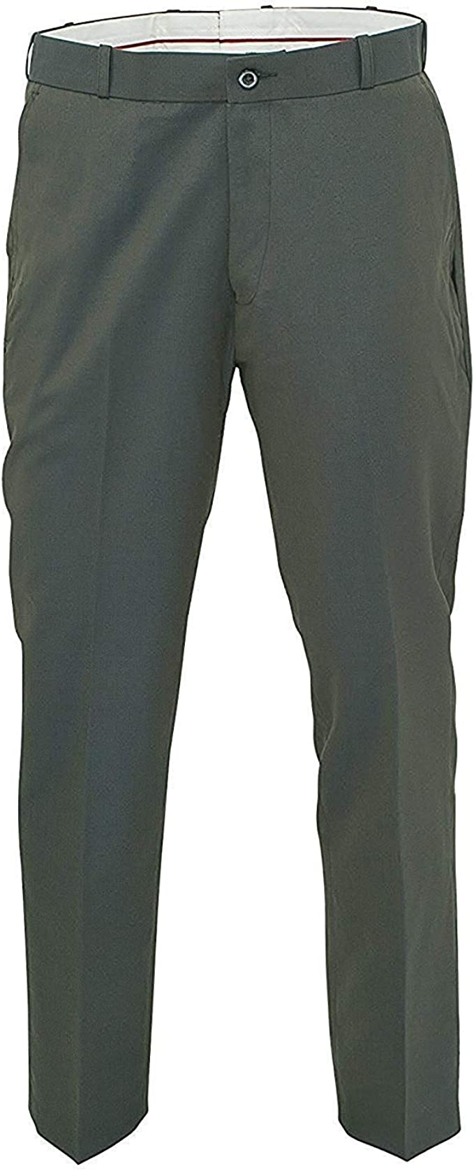 60s 70s Men's Clothing UK | Shirts, Trousers, Shoes Relco Mens Classic Green Tonic Stay Press Trousers £39.99 AT vintagedancer.com