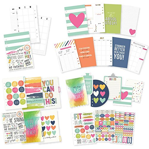 Simple Stories 8900 Fitness Planner Insert