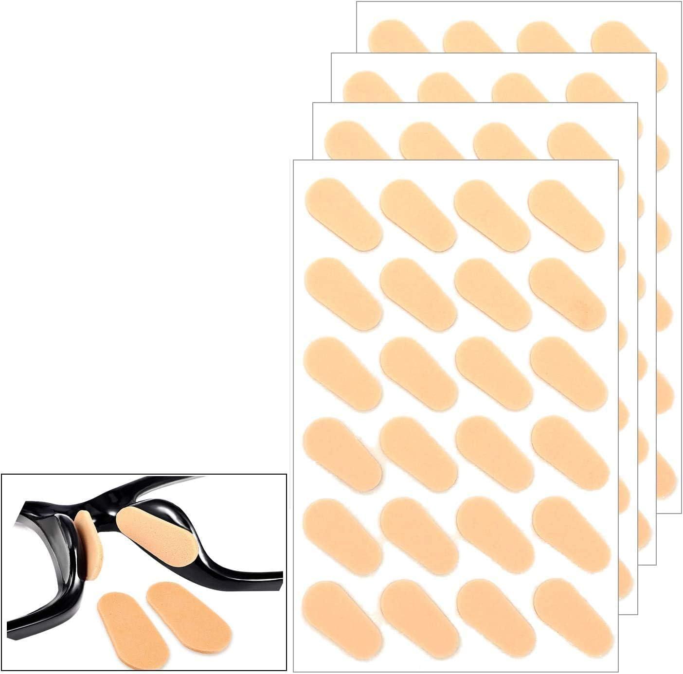 48 Pairs Soft Foam Nose Pads, Self-Adhesive Anti-Slip Eyeglass Nose Pads, Thin Nosepads for Eyeglasses Sunglasses Glasses