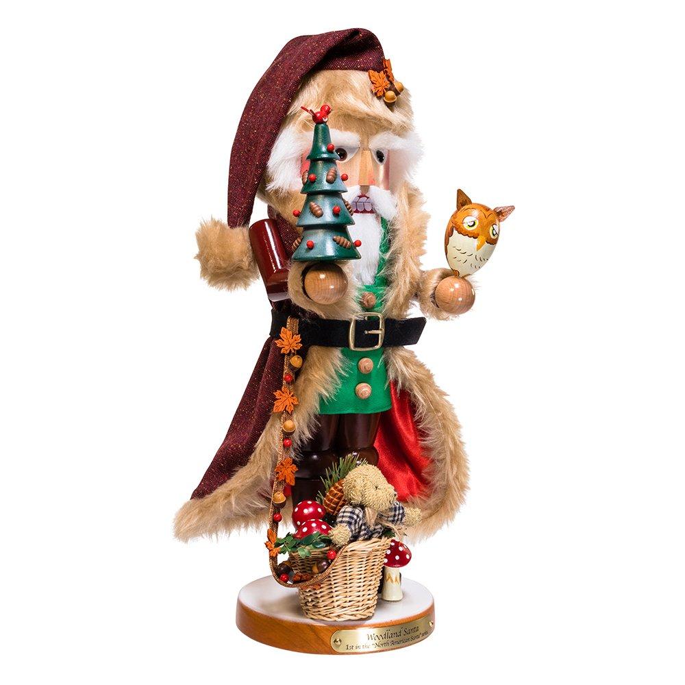Kurt S. Adler 17.5'' Steinbach Woodland Santa Nutcracker