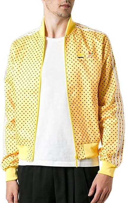 Parque jurásico porcelana manual  adidas Originals hombre Pharrell Williams diseño de lunares chaqueta de  pista: Amazon.es: Deportes y aire libre