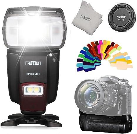 Pixel Vertax D17 profesional empuñadura de batería para Nikon ...