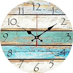 61Q1zn1nU6L._SS300_ Coastal Wall Clocks & Beach Wall Clocks