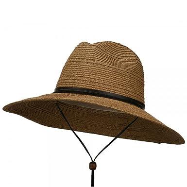 b357bb4bbeb Jeanne Simmons Men s UPF 50+ Wide Brim Safari Hat at Amazon Men s ...