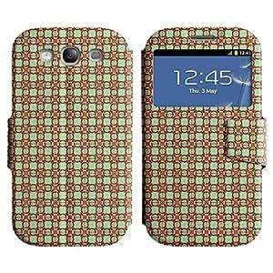 LEOCASE patrón increíble Funda Carcasa Cuero Tapa Case Para Samsung Galaxy S3 I9300 No.1003862