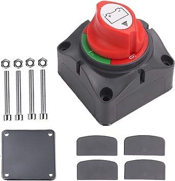 Van Boot Wohnmobil LKW Batterie-Trennschalter Trennschalter f/ür Auto