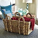 Household-Essentials-Large-Rectangular-Floor-Storage-Basket-with-Braided-Handles