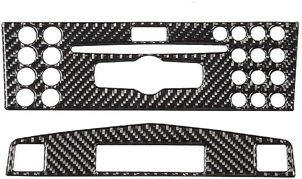 Yctze Verkleidung Der Mittelkonsole Carbon Verkleidung Der Mittelkonsole Für Die Navigation Passend Für C Klasse W204 2005 2012 Auto