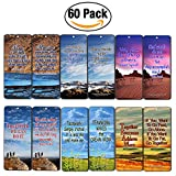 Creanoso Team Spirit Bookmarks Cards (60-Pack)- Teamwork Team Building Business Sports Marketing Gifts Ideas Stocking Stuffers - Bookmarker for Men Women Teens