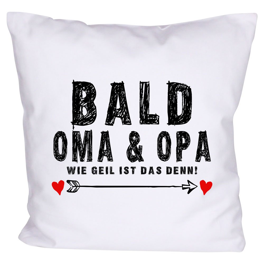 Trend Mama Kissen Bald Oma Opa Coole Geschenkidee Grosseltern Couch