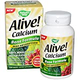 Alive Calcium Bone Formula 120 Tablets Review