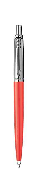 226 opinioni per Parker 1904839 Penna a sfera Linea Jotter Premium, pulsante, Rosa (Coral)