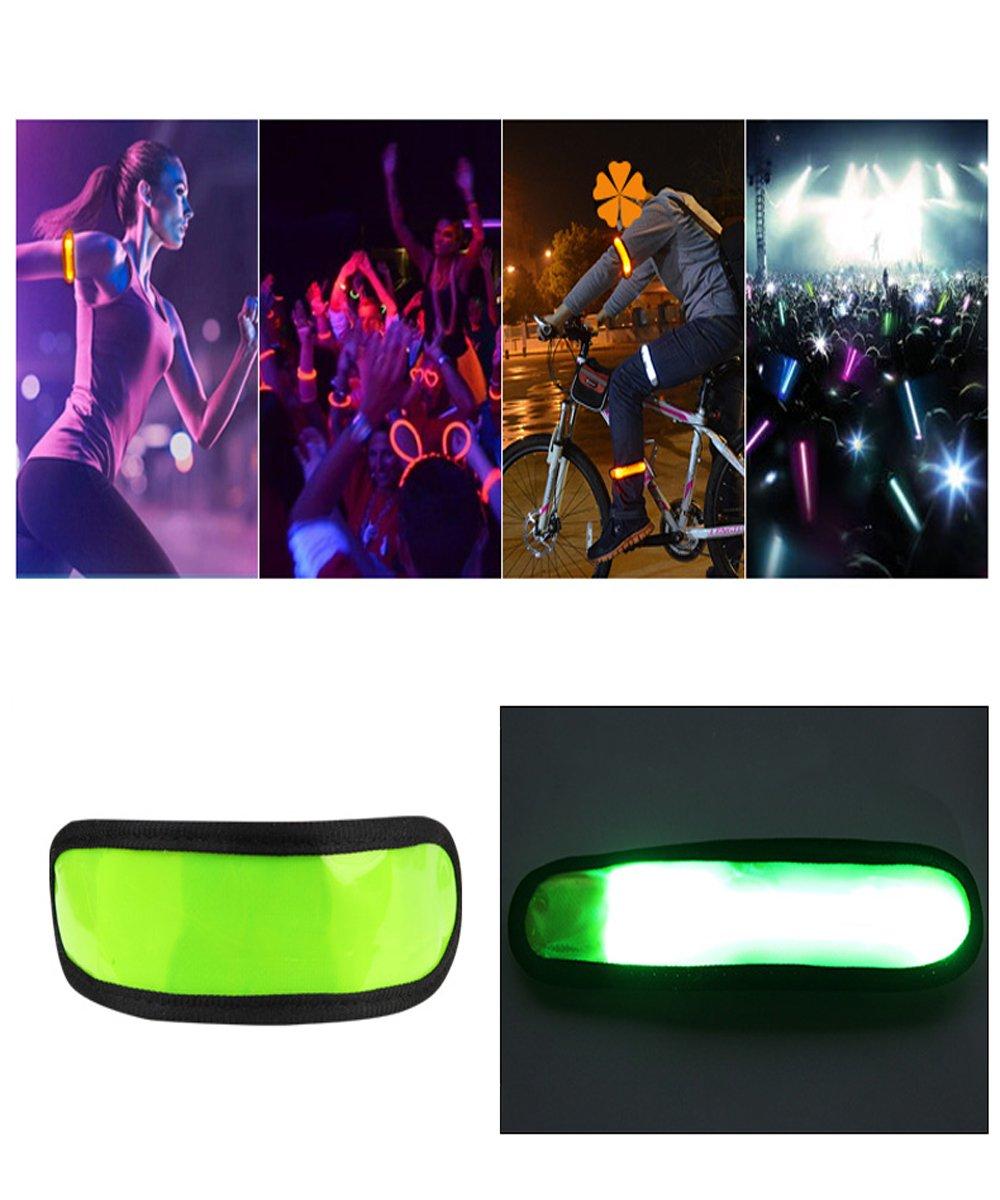 LED Slap Band LED cinta de correr, luces intermitentes para ...