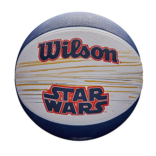 Falcons Basketball (Star Wars Han Solo & Chewbacca Wilson Intermediate Basketball, Millenium Falcon)