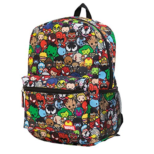 Marvel Kawaii Avengers Superheroes Boy's 16 Inch Backpack (Avengers Kawaii)