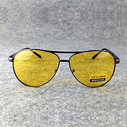 42c83629dda BuyWorld UVLAIK TAC HD Polarized Sunglasses Men Women Night Vision Driving  Glasses Goggles Driver Yellow Sun Glasses UV400  Amazon.in  Home   Kitchen
