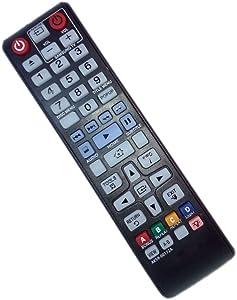 AK59-00172A Remote Control Replaced for Samsung BD-F5700 BDHM57CZA BD-H6500 BD-H6500/ZA DVD BD Blu-Ray Disc Player