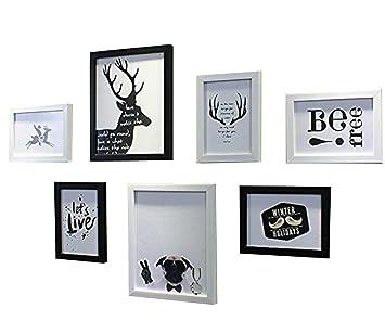 HJKY Photo Frame Wall Set Die Nordischen Minimalistischen Modernen Bilder  Wand Kreative Kombination Von Wand