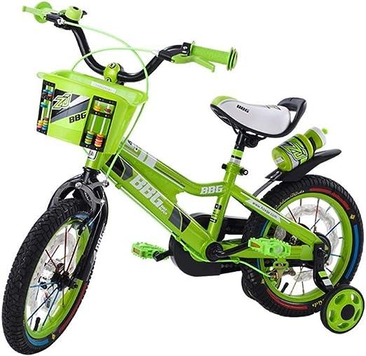 AJZGF Bicicletas niños Bicicleta for niños Freestyle Boy and Girl 12