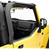Bestop 55012-01 Black Door Surround Kit for 97-06 Wrangler TJ