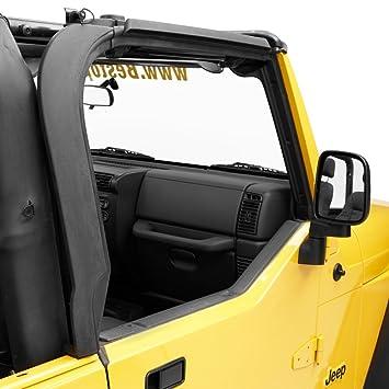 Bestop 55012 01 Black Door Surround Kit For 97 06 Wrangler TJ