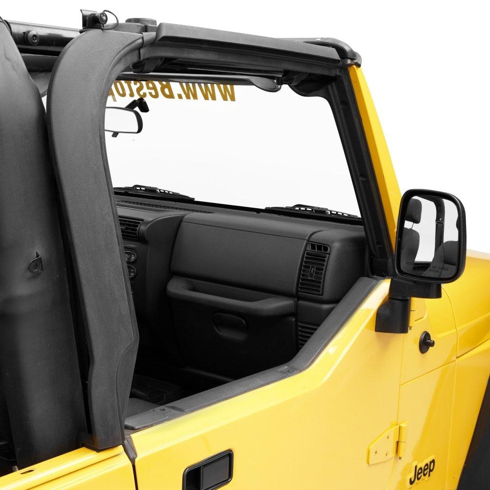 Bestop 55012-01 Black Door Surround Kit for 97-06 Wrangler TJ
