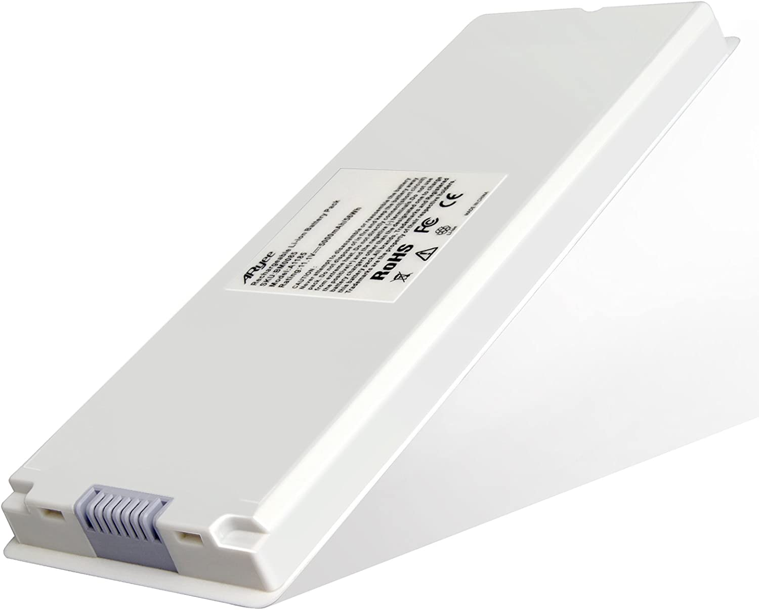 Laptop Battery Replacement for A1185 A1181 MacBook 13 inch Series MA254 MA255 MA699 MA700 MB061 MB062 MB402R White