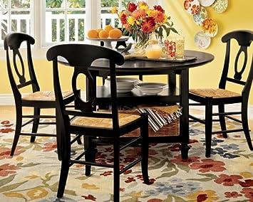 Amazon.com : Pottery Barn Shayne Kitchen Table : Changing ...