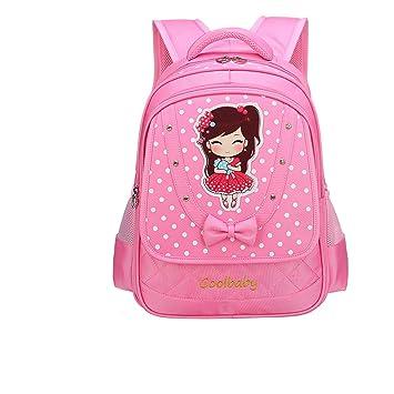 8370b81ebf71d Yslin Rucksack Polyester Wasserfest Backpack 20-35L Prinzessin Elegant  Mädchen Schultasche Schulrucksack Kindergarten 6-