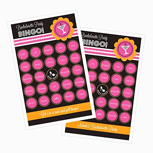 3 sets of 16 Bachelorette Party Bingo