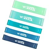 WOTEK Resistance Bands Set with Widen and Thicken, Exercise Bands for Working Out, Physical Therapy, Home Fitness, Strength W