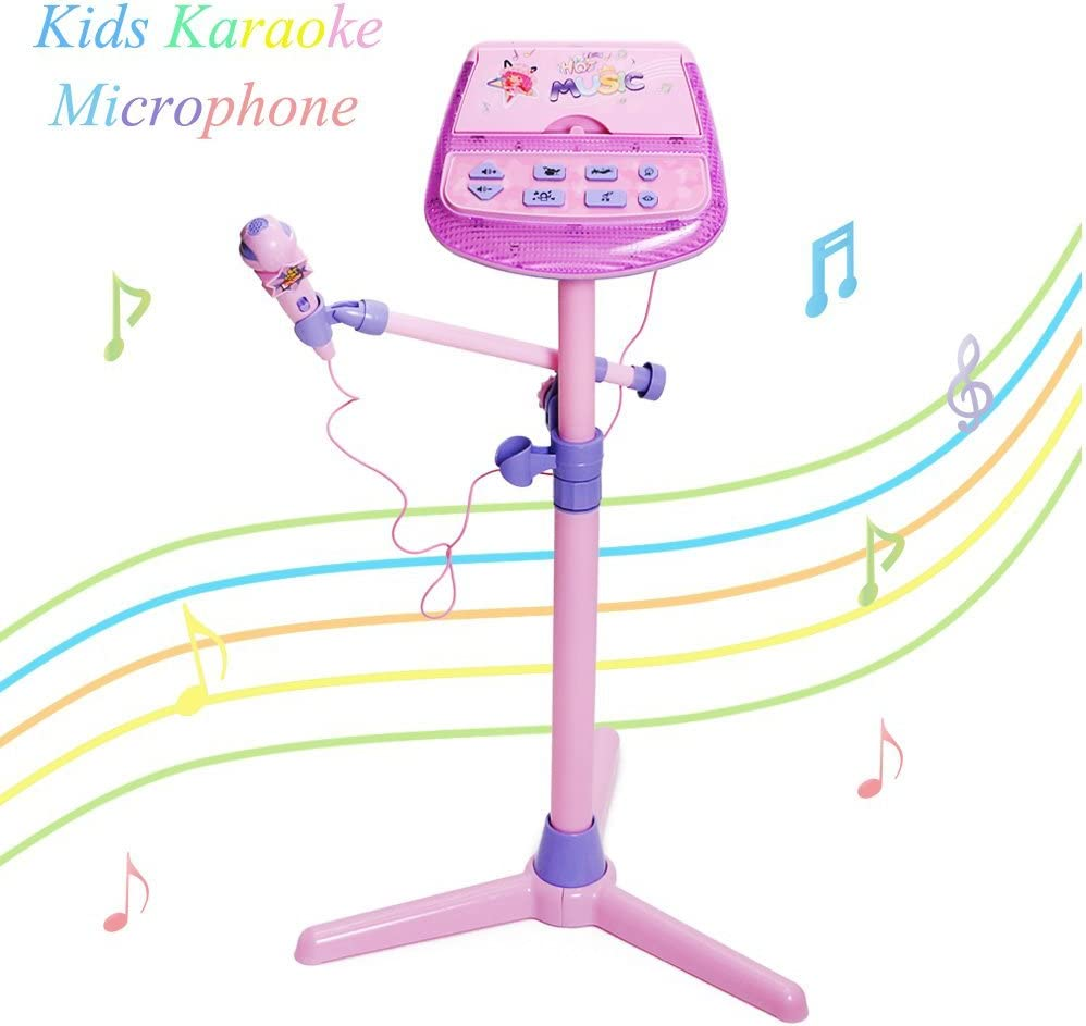 Happytime Kids Karaoke Microphone Musical Toys