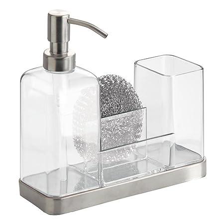 InterDesign - Forma - Organizador doble para jabón y cepillo ...