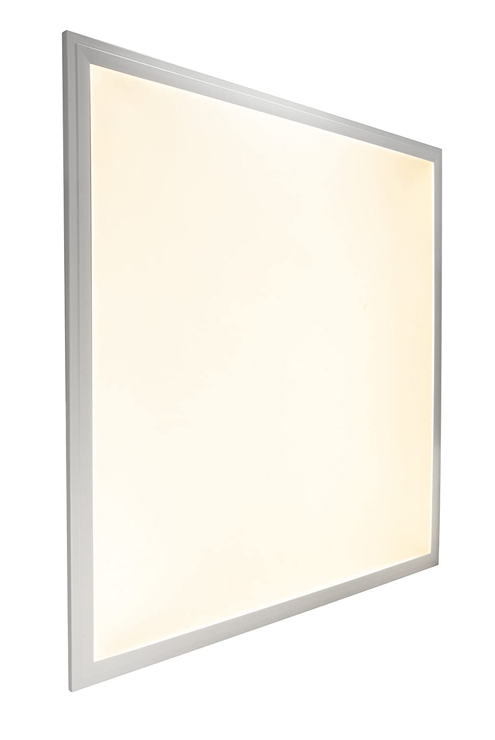 48W WARM WHITE LED Ceiling Panel Flat Tile Panel Downlight 3500k Super Bright 600 x 600 Premium Quality, 3 Years Warranty White Body [Energy Class A++] Long Life Lamp Company
