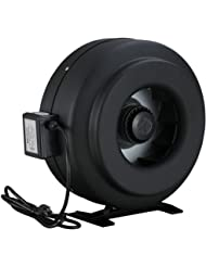 """Amico Power Fzy-12"""" Strong CFM Ventilation Inline Fan Hydroponics Exhaust Cooling Duct Fan"""