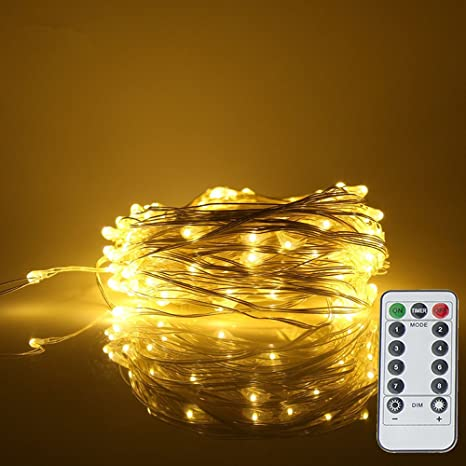 20//50//100 LED String Battery Operated Copper Silver Wire Fairy Lights Xmas Party
