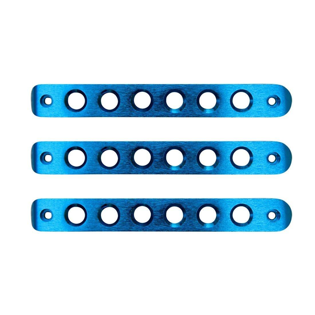 Blue 3pcs Door Aluminum Grab Handle Inserts Cover for Jeep Wrangler JK 2 Door Rubicon Sahara X Sport Accessories Parts 2007-2017