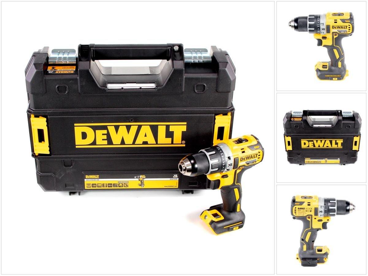 Dewalt DCD791NT-XJ Visseuse/perceuse avec coffre, 18 V, Jaune/noir