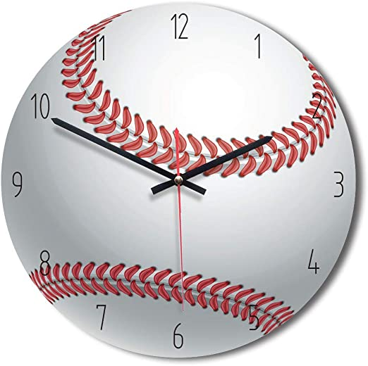 YiYiE - Reloj de Pared con diseño de balón de fútbol y Pelota de ...