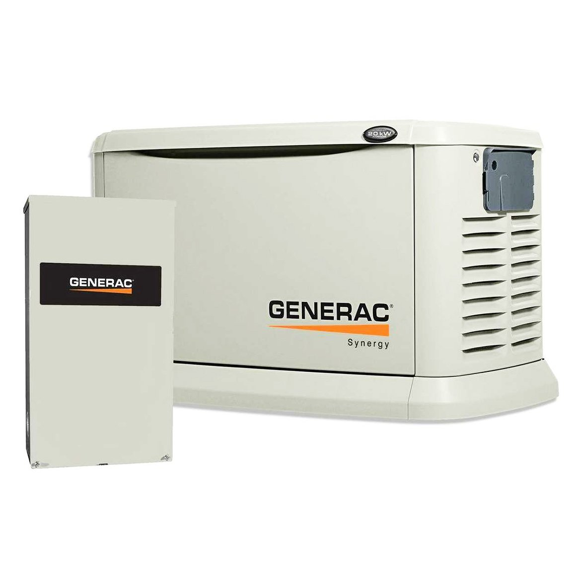 Amazon.com : Generac 7041 Synergy 20kW/18kW Variable Speed Air Cooled Home  Standby Generator with Whole House 200 Amp Transfer Switch (Non-SE CUL) :  Garden ...