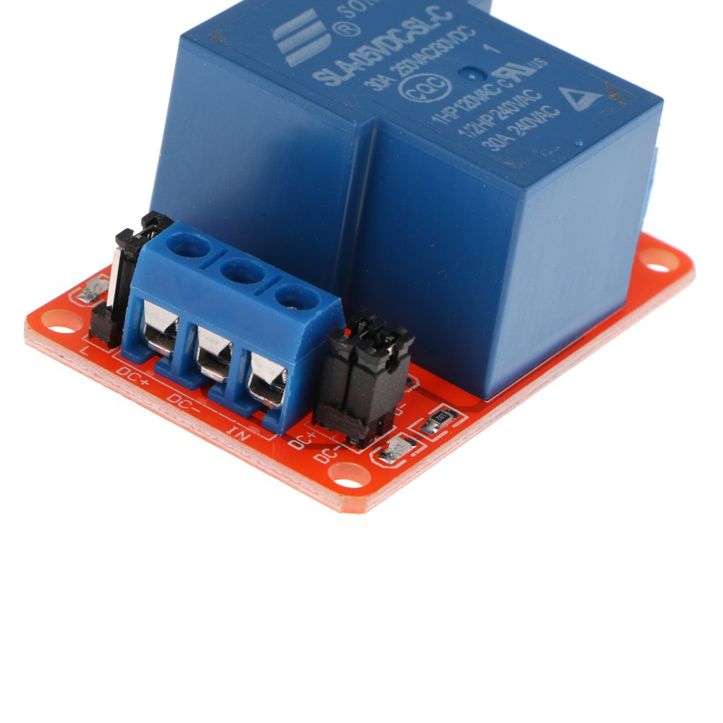 30A D DOLITY One Channel DC 5V Relay Module for Arduino Raspberry Pi DSP AVR PIC ARM