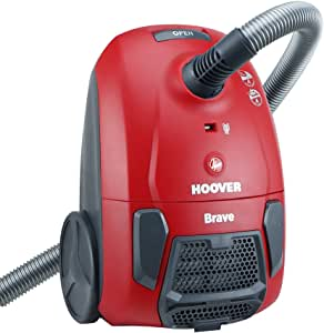 Hoover Brave BV10 - Aspirador trineo con bolsa, 700 W, Rojo (Red Race): Hoover: Amazon.es: Hogar